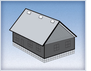 house static roofLouver