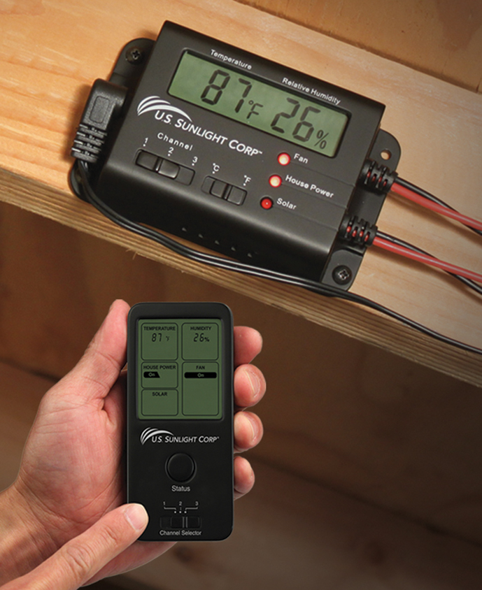 Solar Controller Air Vent Inc
