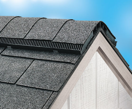 Recommended Roof Venting : Shinglevent ii ridge vents air vent inc